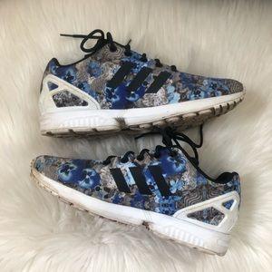 Adidas Ortholite ZX Flux Torsion Floral Sneakers